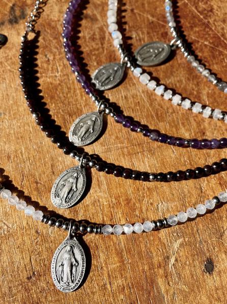 médaille miraculeuse bracelet